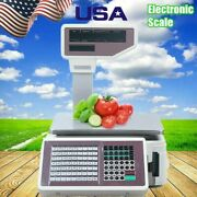 Computing Digital Scale Price Deli Electronic Counting Max Range 30kg Commercial