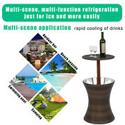 Cool Bar Table Patio Set Outdoor Furniture Bistro Piece Dining Pool Bbq Us