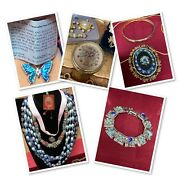 Vintage Antique Renaissance Jewelry Lot Stunning Not Tested