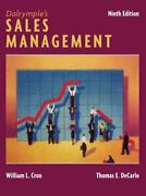 Dalrympleand039s Sale Management Hardcover By Cron William L. Decarlo Thomas E...