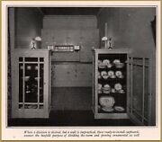 1926 Antique Kitchen Photos Division Cupboards China
