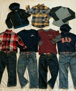 Boys Lot/ 11 Size 6 Fall/ Winter Everyday Clothing Outfits, Casual Wear Gapkids+