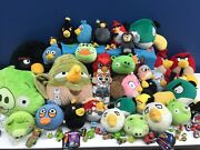 Used Lot Angry Birds 33 Plush Toys And 30 Action Figures Toys Star Wars