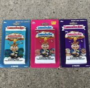 Garbage Pail Kids Brand New Series Blister Packs / 3 Total Bns1,bns2,bns3 / Gpk