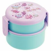 Skater Swimmer Onwr1 Round Lunch Box 2-stage Space Boy Character Goods