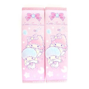 2021 Sanrio Little Twin Stars Car Seat Belt Cover One Pair New Free Shipping