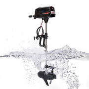 60v 10hp Electric Outboard Trolling Motor Fishing Boat Engine Brushless 2200w Us
