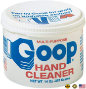 Goop Hand Cleaner And Laundry Stain Lifter Remover 14 Ounce Waterless Non-toxi