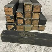 Lot Of 17 Antique Vintage Player Piano Rolls Qrs Universal And More Bohemian Waltz