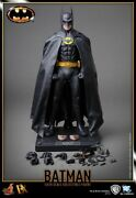 Hot Toys Batman Dx09 1/6 Scale Collectible 1989 Keaton Action Figure New/ Sealed