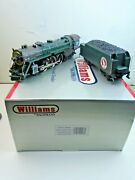 O Scale Williams 40203 Hudson 4-6-4 Great Northern Locomotive And Tender