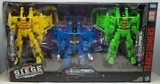 Transformers War For Cybertron Siege Seekers Rainmakers 3 Pack Misb