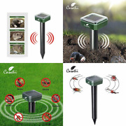 Casatii 6 Packs Solar Powered Ultrasonic Repellent For Rodents Mice Green