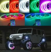 Waterproof Color Flowing Illuminated Led Wheel Rim Lights For Buick Cadillac Ram
