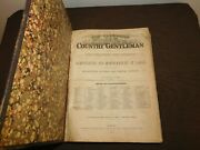 Antique 1872 Cultivator Country Gentleman Agriculture Farming Book Vol Xxxvii