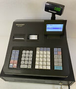 Sharp Xe-a407 Thermal 99 Department Cash Register - Tested - Working W/keys