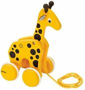 Brio Pull Toy Giraffe Target Age 1 Year Old Pulling Car Pulling Toy Wooden E