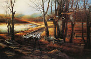 Terry Redlin Rural Route - Blue Wing Teal