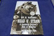 Signed Head O' Steam Acl Railroad Engineer Steam Engines Lumber City Ga History