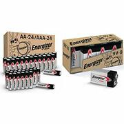 Energizer Max Alkaline Battery Combo Pack Aa 24-pack, Aaa 24-pack, 9 Volt 8-pack