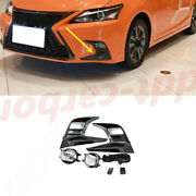 Pair Front Bumper Led Foglamp Kits W/ Switch Replace For Lexus Ct200h 2018-2020