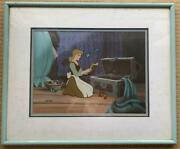 Final Cinderella Cell Painting Music Lessons Limited To 500 Sheets Disney