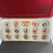 Nissui Bikkuriman Collectible Can Badge Set From Japan Free Shipping