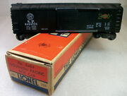 Lionel Postwar 6464-225 White Herald One Side Southern Pacific Box Car Exc