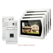 Homsecur Recording And Snapshot Monitor Videoandaudio Home Intercom For House/flat