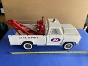Tonka Aaa Service 1960's Ford Pickup Truck W/wrecker Boom Excellent Vintage