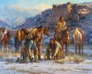 Martin Grelle Plans Against The Pecunies Giclee On Canvas 40x32