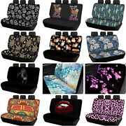 For U Designs Car Seat Covers For Dogs Back Seat Cute Bling Seat Protector