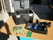 Singer Featherweight Model 221-1 Sewing Machine A Century Of Service With Case +