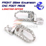 Extended Footrests Touring Cruise Rider Pegs For Suzuki Gsx 1100 Katana