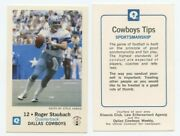 1979 Dallas Cowboys Police Card Set All 14 Mint Cards Plus Coa Free Shipping