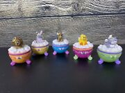 Made 4 U By Claire's Lot Vintage Trinket Boxes Angel Cat Lion Duck Horse Bunny