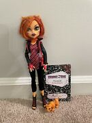 Monster High Toralei Stripe Doll Wave 1 First Wave 1st Wave Purse Pet And Diary
