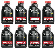 Motul 8l Engine Oil Specific 0w30 100 Synthetic Recommended For Car Skoda