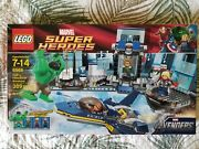 Lego 6868 Avengers Super Heroes Hulk's Helicarrier Breakout Used -100 Complete