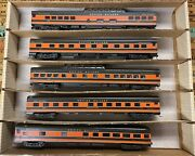 Ho Scale Great Northern Empire Builders Passenger Car Lot Of 5