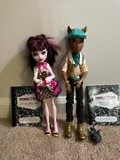 Monster High Forbitten Love Draculaura And Clawd Wolf