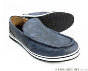 Men 11us Americanino Edwin Slip-on Sneakers Casual Shoes Antique Navy 3e I3626