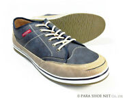 Men 11us Americanino Edwin Leather Sneaker Casual Shoes Antique Navy 3e I3611