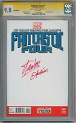Fantastic Four 1 Blank Cgc 9.8 Signature Series Signed Stan Lee Excelsior Movie