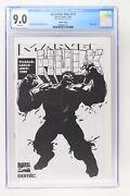 Incredible Hulk 377 - Marvel 1995 Cgc 9.0 Sketch Cover - Finnish Edition