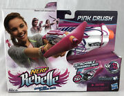 Nerf Rebelle Crossbow Pink Crush Detachable Crossbow Arm Has Some Package Damage