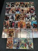 Marvel's Thor Comic Lot Of 37 Contains Issues 1-12, 600-621 And Extras