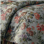 Chaps Brittany Chic French Country Floral Cottage Comforter Queen