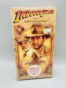 Rare 1989 Factory Sealed Indiana Jones And The Last Crusade Vhs Diet Coke