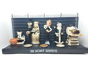 Boney Bunch The Boney Suspects Candle Collectible Discontinued Yankee Candle
